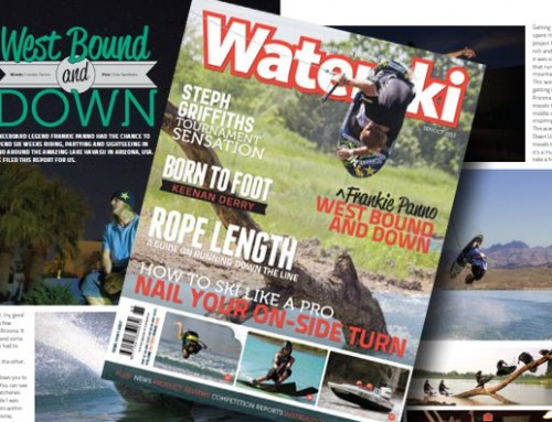 Panno's Australia Waterski Mag Cover Shoot