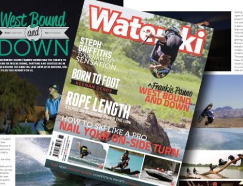 Panno's Australia Waterski Mag Cover Shoot