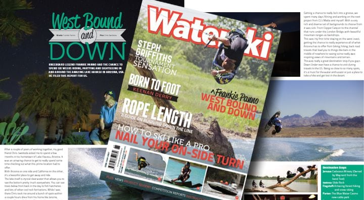Australian Waterski Magazine Cover Behind the Scenes Video!