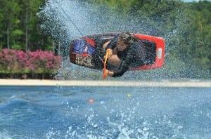 alisa piper � lake placid florida � frankie panno kneeboarding